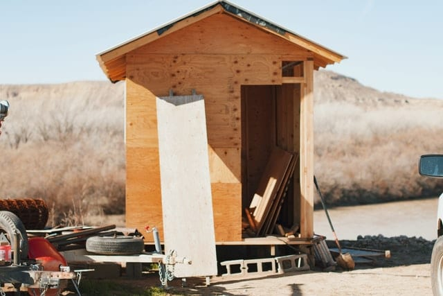 building supplies to build a shed